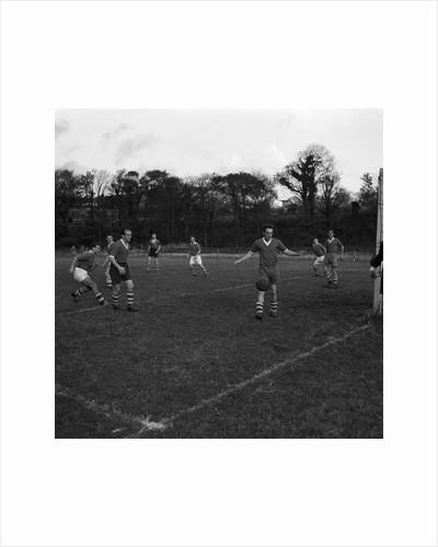 Braddan vs Castletown, men's football match by Manx Press Pictures