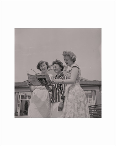 Miss Greeba (Mona Hudson), June Teare and Ivy Benson by Manx Press Pictures