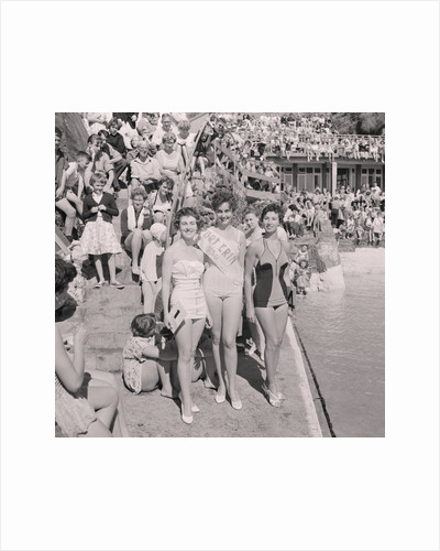 Port Erin Bathing Beauties and Swimming Gala by Manx Press Pictures