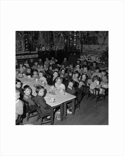 Christmas Party, Tynwald Street, Douglas by Manx Press Pictures