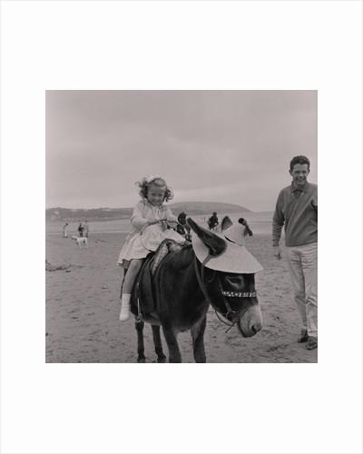 Donkey ride, Douglas beach by Manx Press Pictures