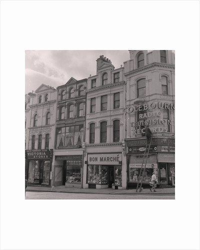Colebourn's and Bon Marche, Victoria Street, Douglas by Manx Press Pictures