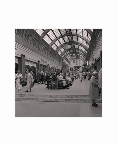 Visitors under the arcade, Douglas by Manx Press Pictures