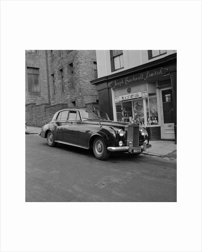 Diana Dors' Rolls Royce car by Manx Press Pictures