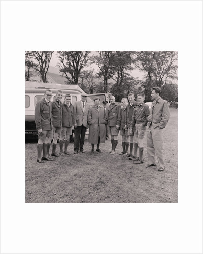 American boy scouts at the Ramsey Agricultural Show by Manx Press Pictures