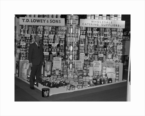 T.D. Lowey & Sons, Palace exhibition stand, Douglas by Manx Press Pictures