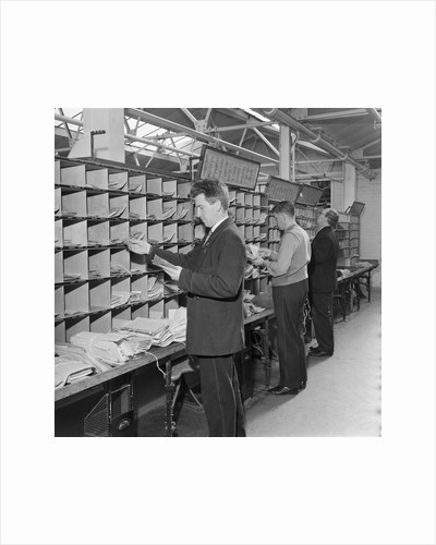 Isle of Man Post Office sorting depot by Manx Press Pictures