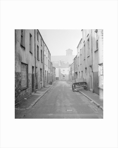 Chester Street slums, Douglas by Manx Press Pictures