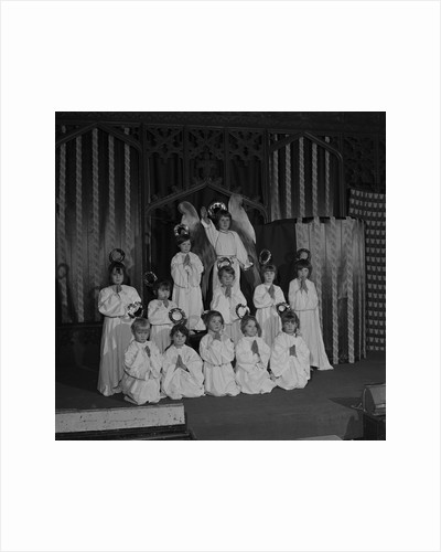 St Thomas' Nativity play, Isle of Man by Manx Press Pictures