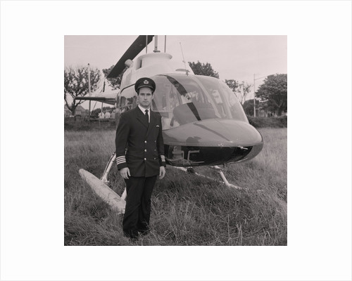 Manx Grand Prix helicopter by Manx Press Pictures