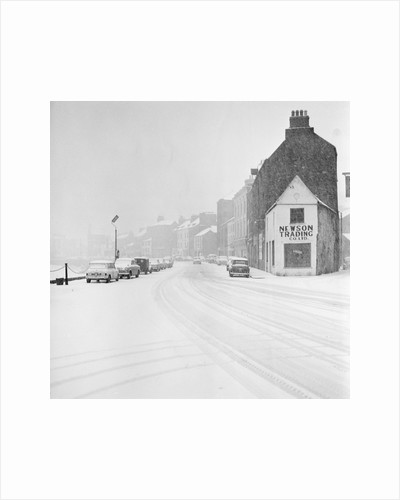 Snow, North Quay, Douglas by Manx Press Pictures