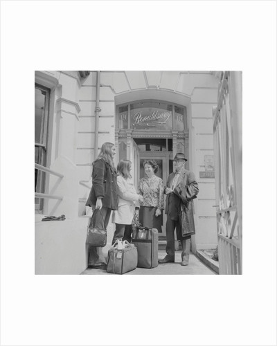Americans at Ronaldsway hotel by Manx Press Pictures