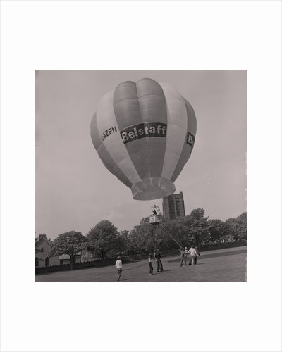 Belstaff balloon, The Grandstand by Manx Press Pictures