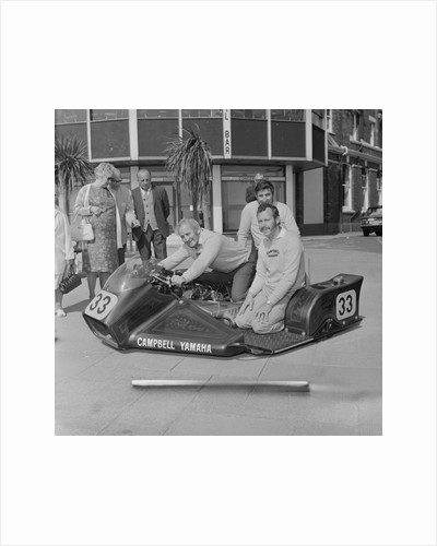 Australian TT sidecar riders by Manx Press Pictures