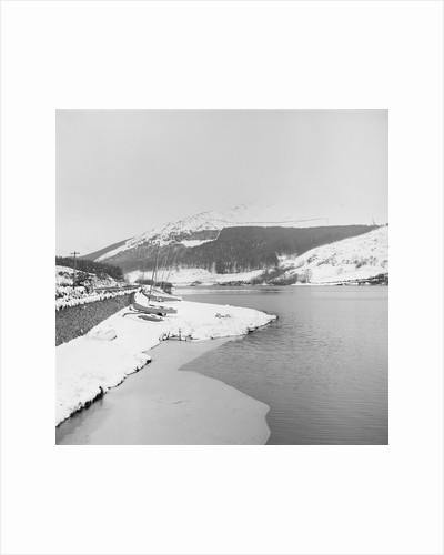 Snow, Baldwin Reservoir by Manx Press Pictures
