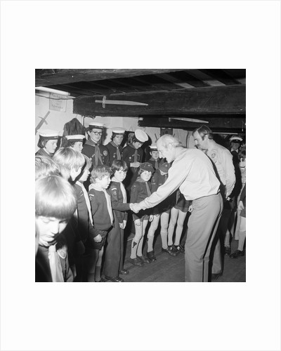 Chief Scout at Peel by Manx Press Pictures