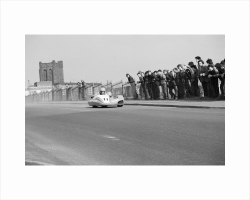 Sidecar test, Bray Hill, Douglas by Manx Press Pictures