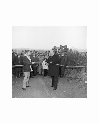 Opening Millennium Way, Lezayre by Manx Press Pictures