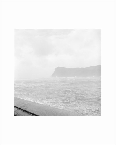 Port Erin Bay during storm by Manx Press Pictures