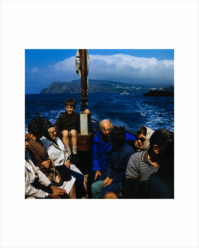 Boat trip to The Calf by Manx Press Pictures