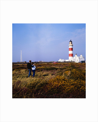 Point of Ayre lighthouse by Manx Press Pictures