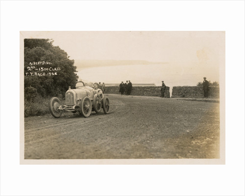 Albert Divo in a Talbot-Darracq, 1922 Tourist Trophy motorcar race by Anonymous
