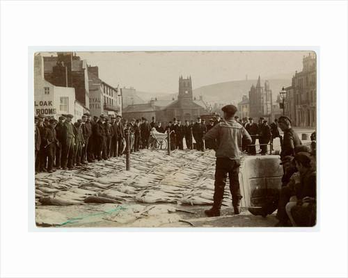 Quayside Fish Market, Ramsey by Thomas Horsfell Midwood