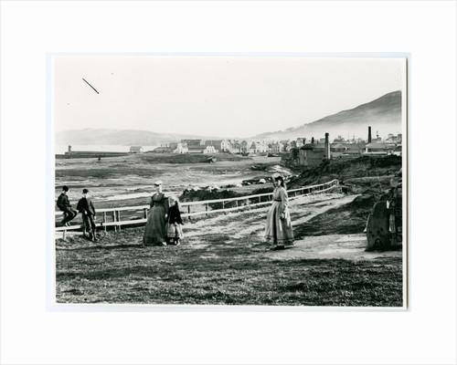 Ramsey Harbour before Mooragh built by George Bellett Cowen