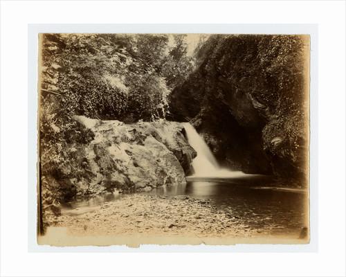Glen Maye waterfall by W. H. Tomkinson