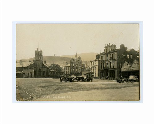 Market Place, Ramsey by Thomas Horsfell Midwood