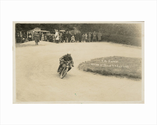T.M. Sheard, 1923 Senior TT (Tourist Trophy) by Thomas Horsfell Midwood