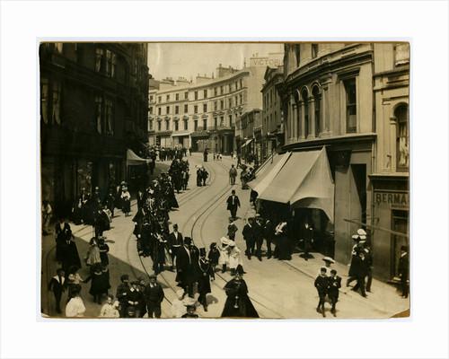 Mayor's procession on Prospect Hill, Douglas by Henry Hough