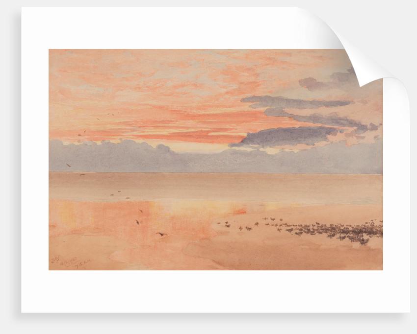 Red dawn by John Miller Nicholson