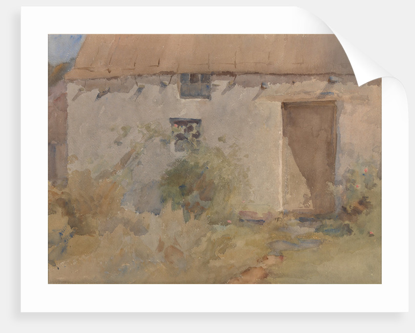 A Manx Thatched House by Archibald Knox