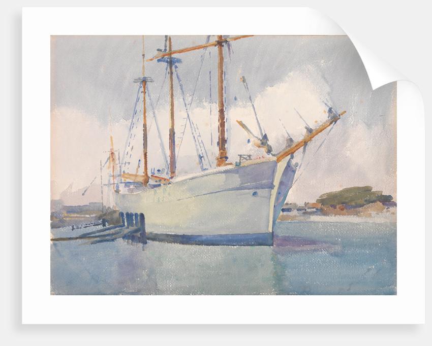 The Ship, Littlehampton, Sussex by Archibald Knox