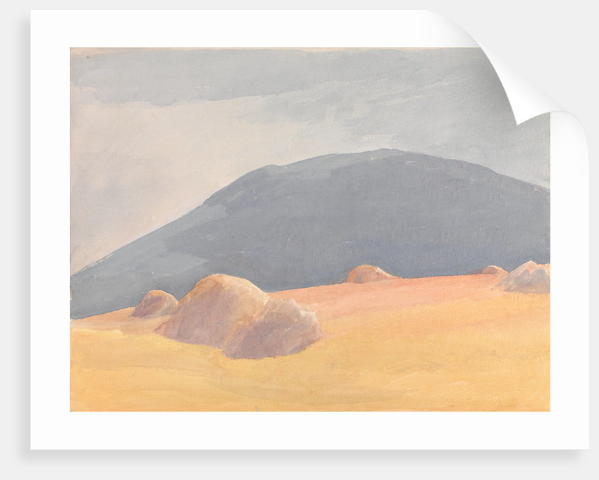 Hayfield in the Mountains by Archibald Knox