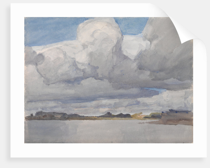 Cumulus Clouds by Archibald Knox