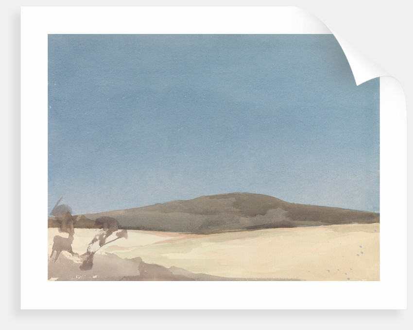 Landscape on a clear day by Archibald Knox
