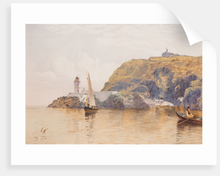 Douglas Head and Lighthouse by John Miller Nicholson