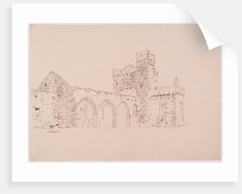 Peel Cathedral by John Miller Nicholson