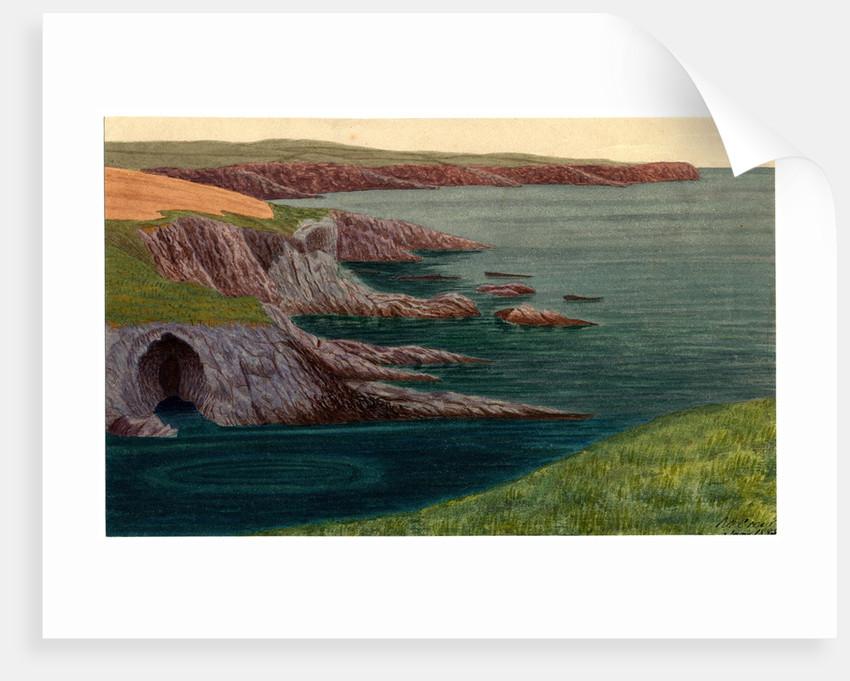 "Santon Head ""Voices in Cave"" by Robert Evans Creer"