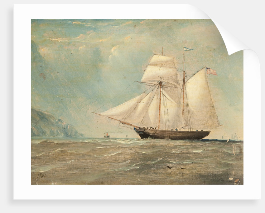 Schooner 'William' of Douglas by Anonymous