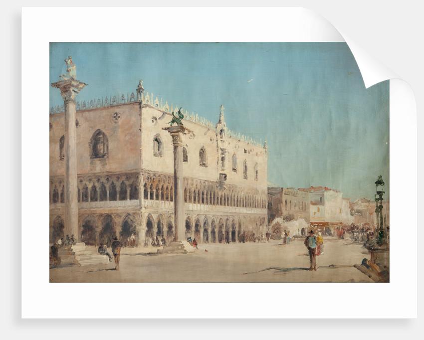 The Doges Palace, Venice by John Miller Nicholson