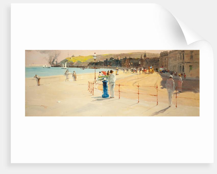A summer afternoon, Douglas promenade by John Miller Nicholson