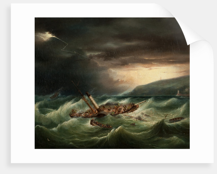 The Wreck of the St George, 1830 by Anonymous