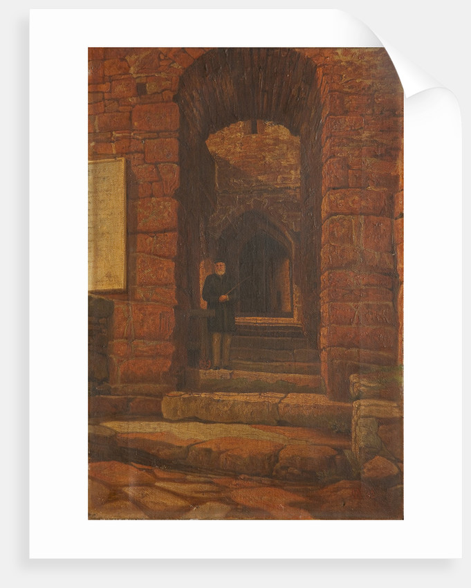 Entrance to Peel Castle by C. H.C. Wells