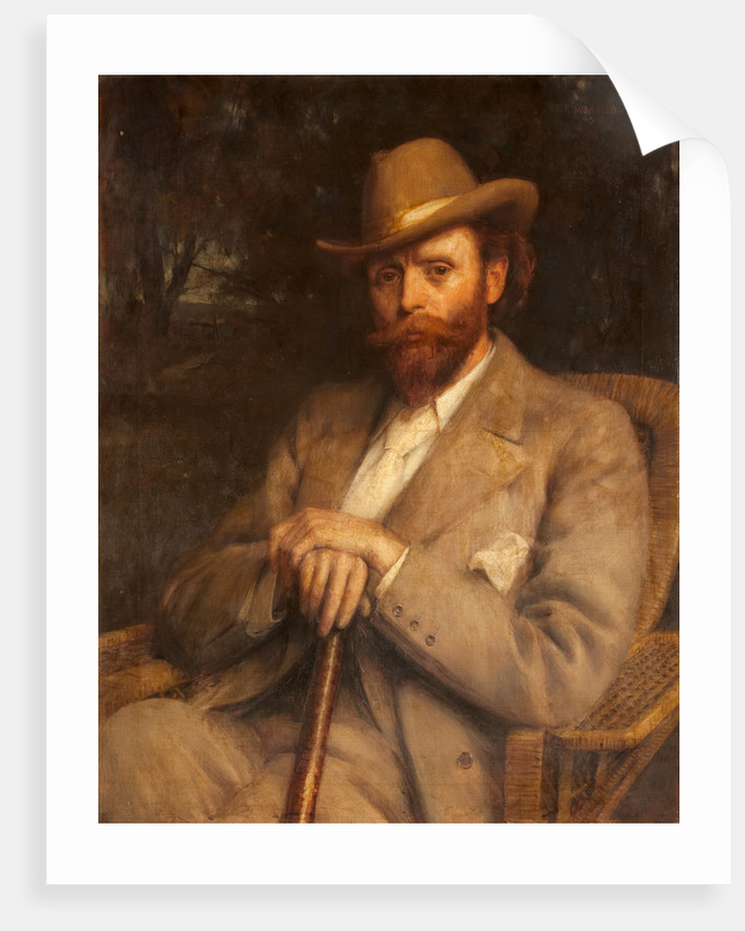 Portrait of Sir Hall Caine by Robert Edward Morrison