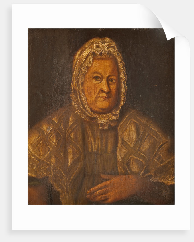 Portrait of a Manx Countrywoman by Anonymous