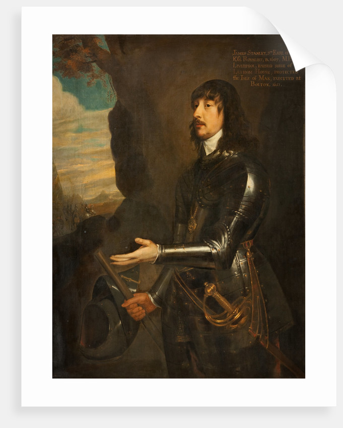 Portrait of James Stanley, Seventh Earl of Derby by Anonymous