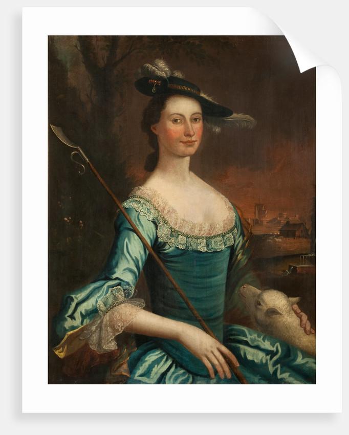 Portrait of Ann Fine by Anonymous
